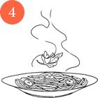Рецепты шефов: Spaghetti Aglio, Olio e Peperoncino. Изображение № 7.