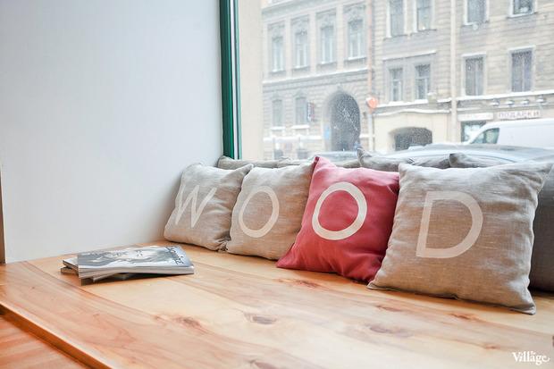 Новое место (Петербург): Кафе-бар Wood. Изображение № 13.