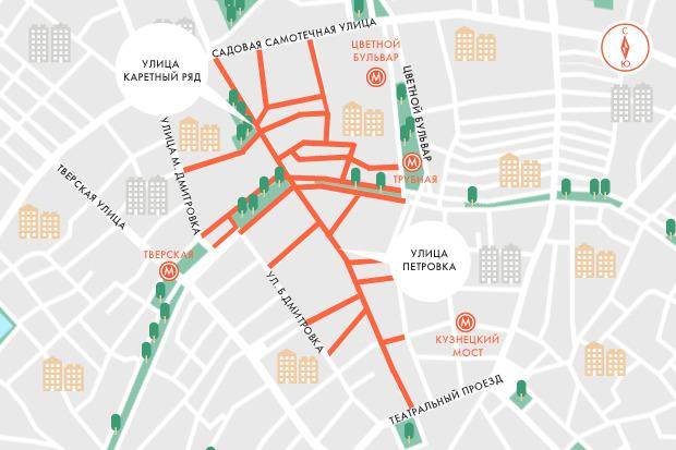 В центре Москвы заработала первая платная парковка. Изображение № 1.