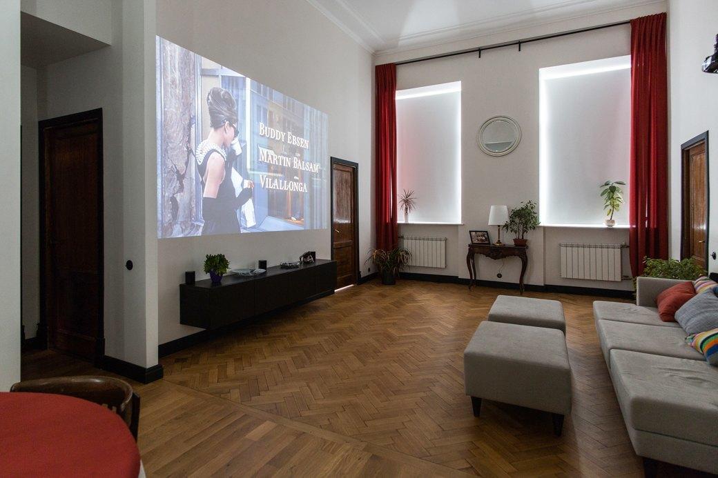 Светлая квартира с гостиной-кинотеатром наплощади Труда (Петербург). Изображение № 9.