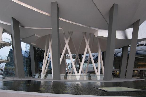 Дизайн от природы: Дом-лотос и супердеревья в Сингапуре. Изображение № 20.