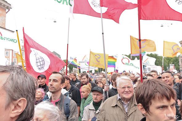 Фоторепортаж (Петербург): Митинг и шествие оппозиции в День России . Изображение № 20.