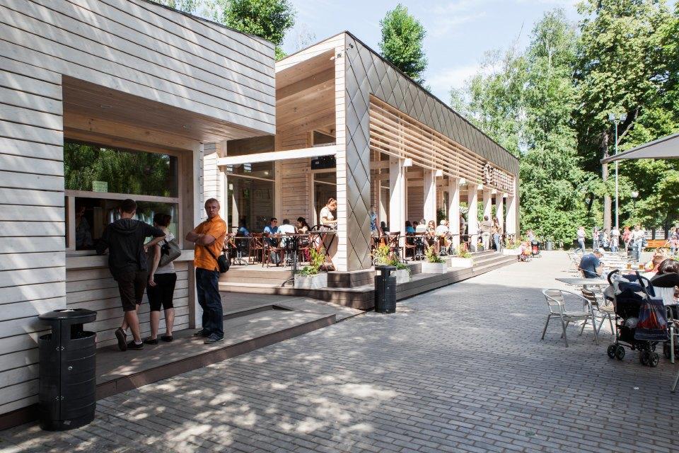 Еда в парке Горького: 33кафе, ресторана икиоска. Изображение № 42.