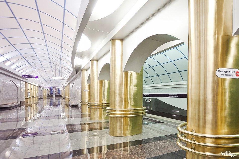 Фоторепортаж: Станции метро «Международная» и«Бухарестская» изнутри. Изображение № 28.