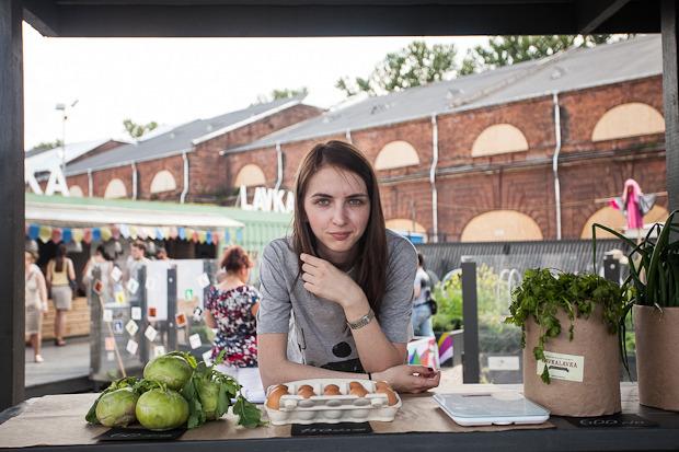 Губернатор Полтавченко посетил фермерский рынок «Лавки». Изображение № 3.