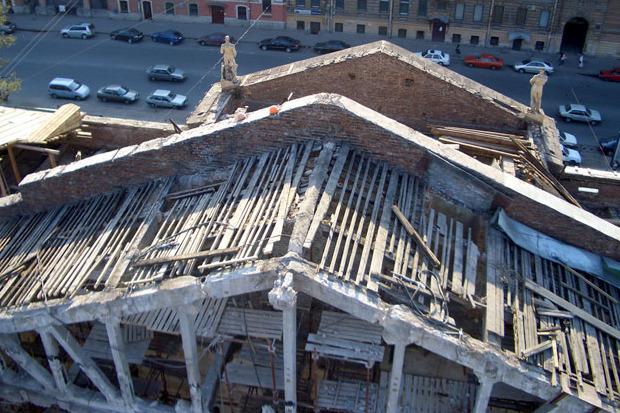 Кинотеатр «Ленинград» в Таврическом снова реконструируют. Изображение № 2.