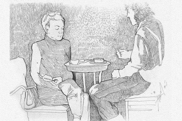 Влюблённые пары на улицах Москвы. Изображение № 9.