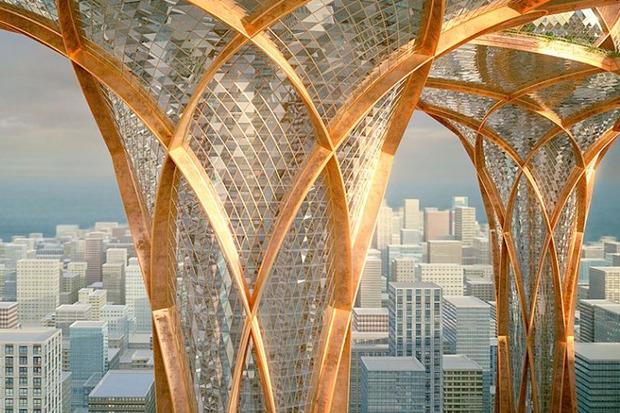 Иностранный опыт: 8 фантастических городских проектов. Изображение № 30.