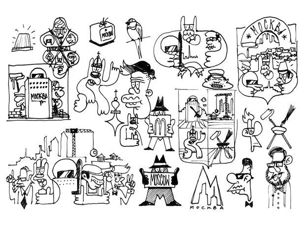 Герб Москвы: Версия граффити-художника Nootk. Изображение № 22.