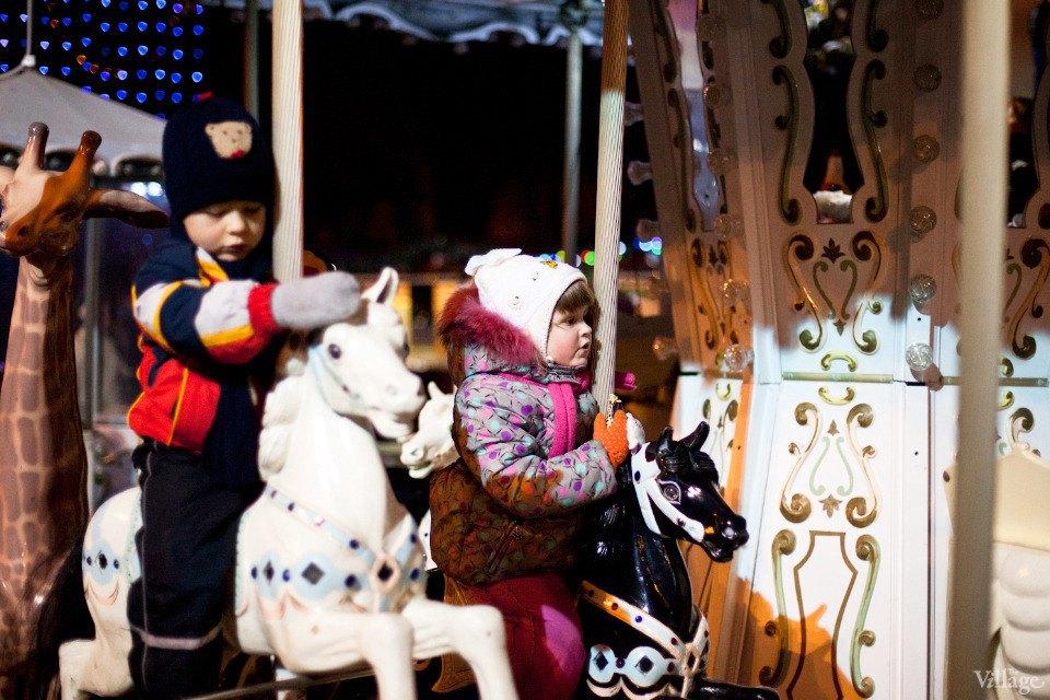 Люди в городе: Рождественская деревня ВВЦ. Изображение № 3.