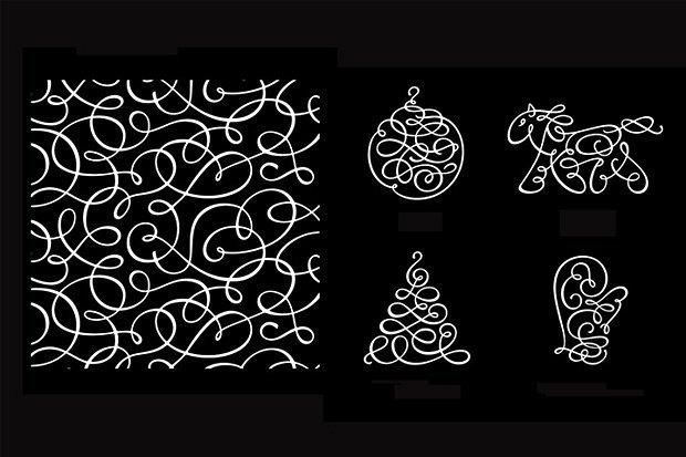 «Студия Лебедева» разработала фирменный стиль для новогодних праздников в Москве. Изображение № 3.