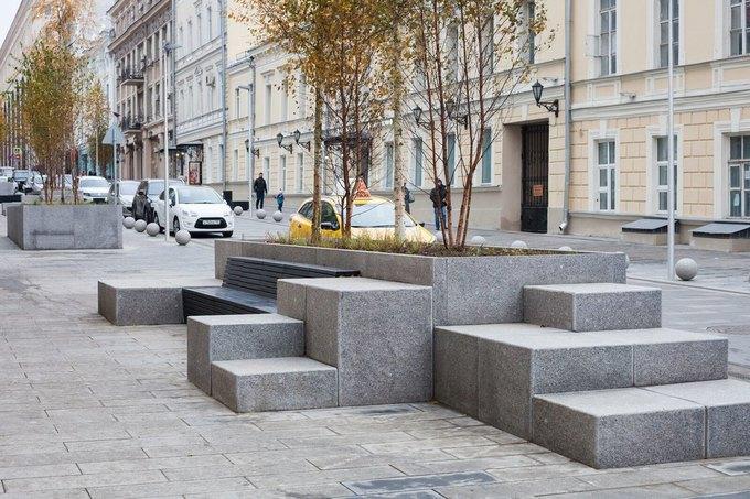 На Неглинной улице появились сквер и велодорожка . Изображение № 5.