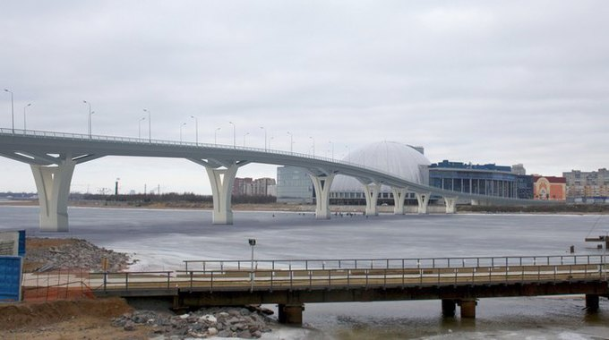 Началось строительство Яхтенного моста наКрестовский остров. Изображение № 3.