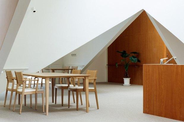 Дом престарелых с деменциями в Хоккайдо (Япония) Архитекторы: Sou Fujimoto Architects. Фотограф: Daici Ano. Изображение № 5.