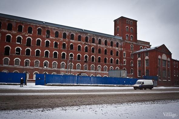 Вид здания с Обводного канала. Февраль 2011. Изображение № 4.