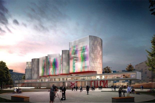 Три проекта нового здания ГЦСИ. Изображение № 17.