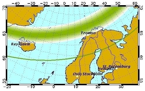 Изображение 6. Солнечный ветер. Несколько мест для любителей наблюдать полярное сияние из своего окошка.. Изображение № 2.
