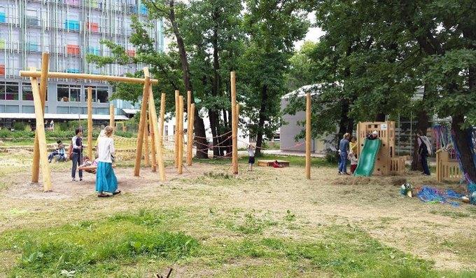 В «Аптекарском огороде» открылась детская площадка. Изображение № 1.