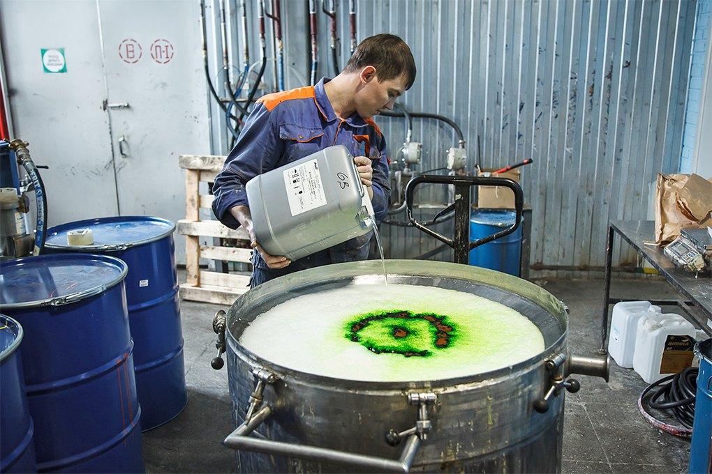 Rush: Производитель краски для граффити, потеснивший западныебренды. Изображение № 1.