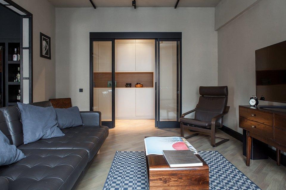 Трёхкомнатная квартира для холостяка наТишинке. Изображение № 7.