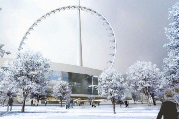 В Москве хотят построить самое большое вмире колесо обозрения. Изображение № 2.