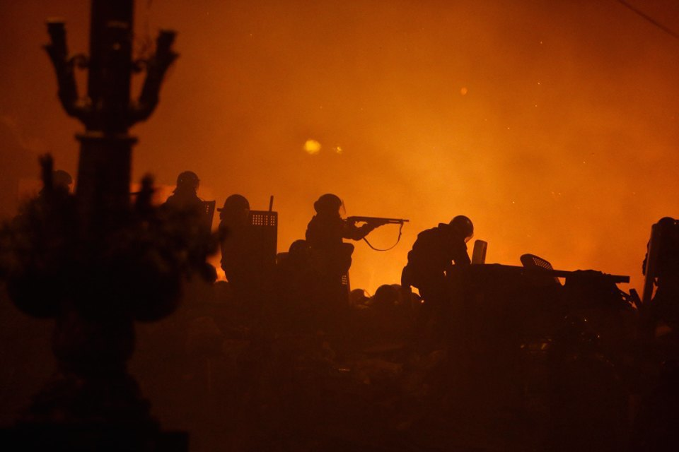 Штурм Майдана. Изображение № 6.