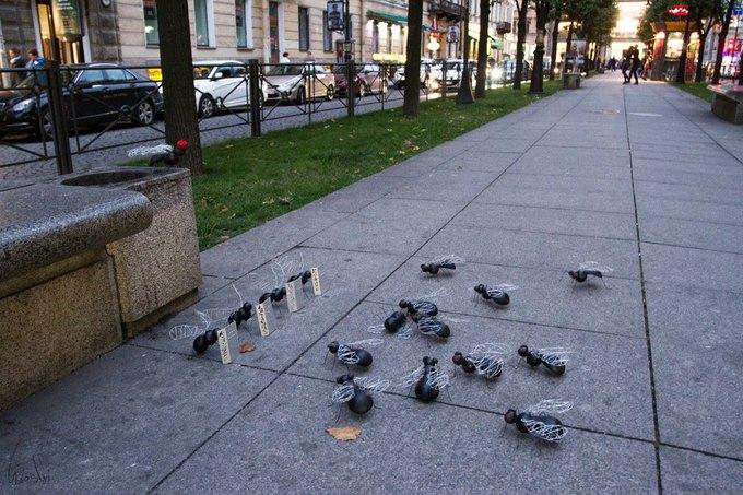 Стальные мухи наБольшой Конюшенной улице. Изображение № 1.