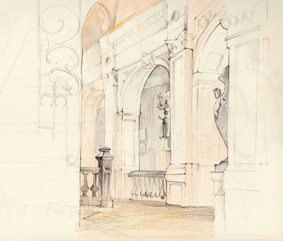 Клуб рисовальщиков: Особняк 1896 года. Изображение № 6.