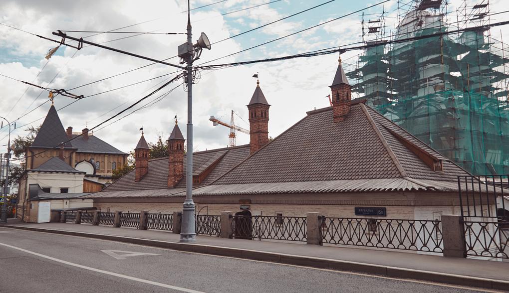Старый Государев двор, Знаменский монастырь (основан в 1631 году), ул. Варварка, 8. Изображение № 6.
