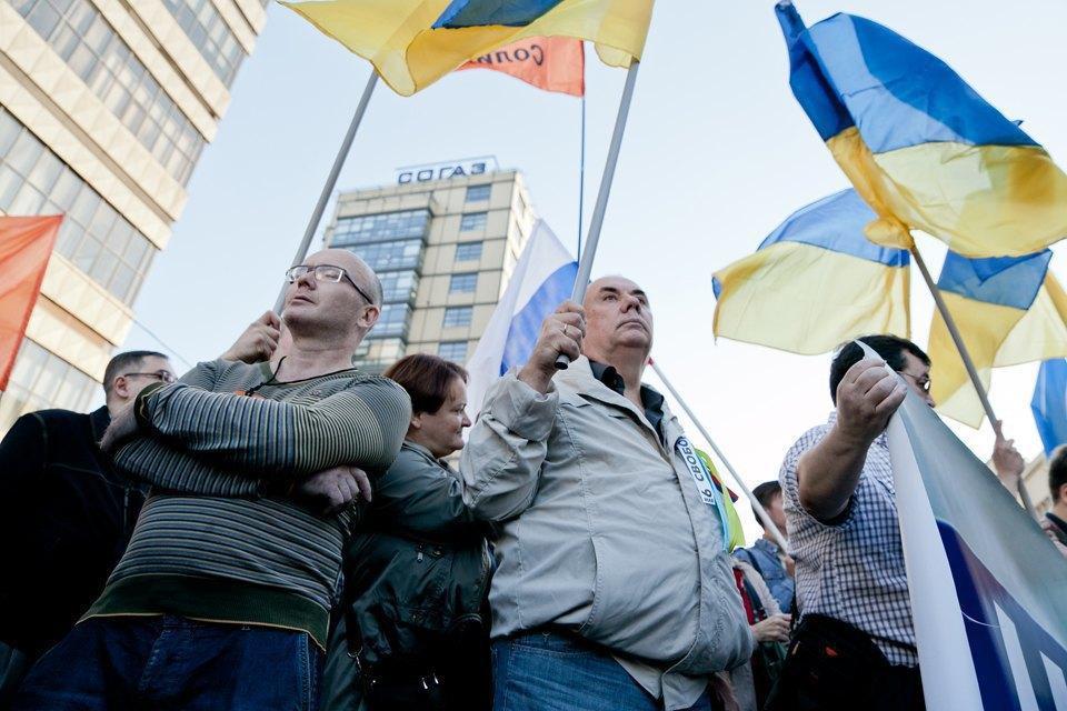 Участники и лозунги «Марша мира». Изображение № 24.