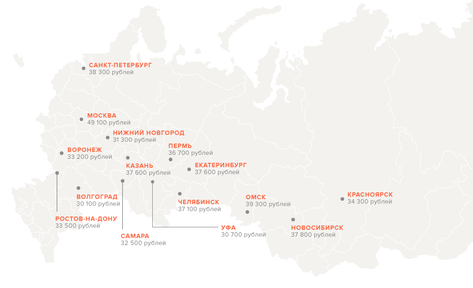 Из каких городов хотят уехать россияне. Изображение № 17.