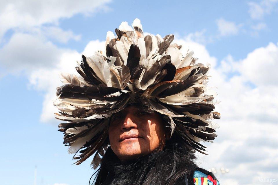 Гости столицы: Как вМоскве оказались индейские музыканты. Изображение № 19.