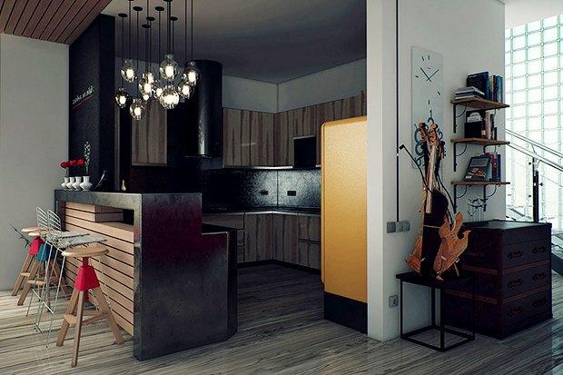 Как обустроить квартиру холостяка. Изображение № 6.