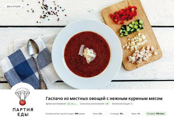 ВМоскве иПетербурге появился сервис доставки продуктов для ужинов . Изображение № 1.