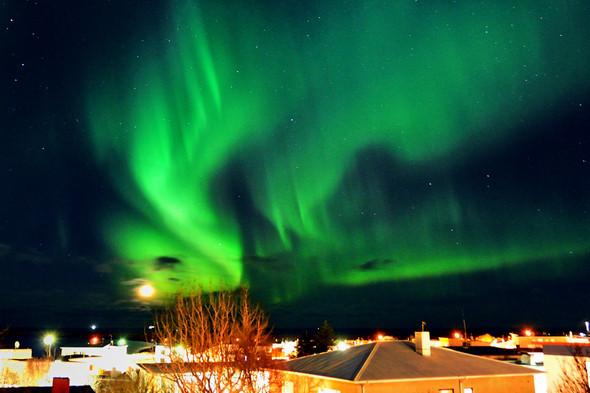 Изображение 8. Солнечный ветер. Несколько мест для любителей наблюдать полярное сияние из своего окошка.. Изображение № 14.