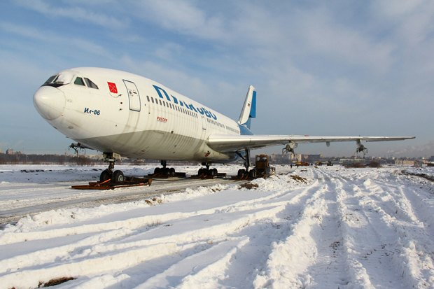 Музей авиации разместят в списанном самолёте Ил-86. Изображение № 1.