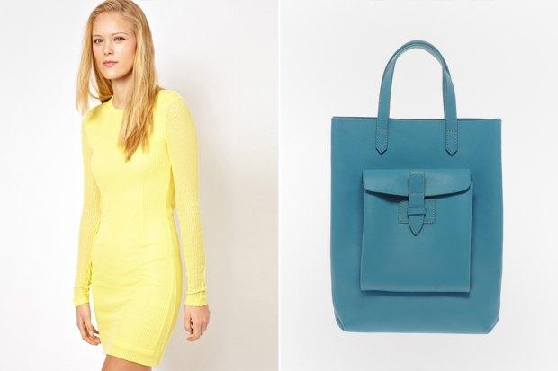 Платье Rag & Bone Jean за 5293 рубля со скидкой 50 % и сумка French Connection за 2 714 рублей со скидкой 60 %. Изображение № 15.