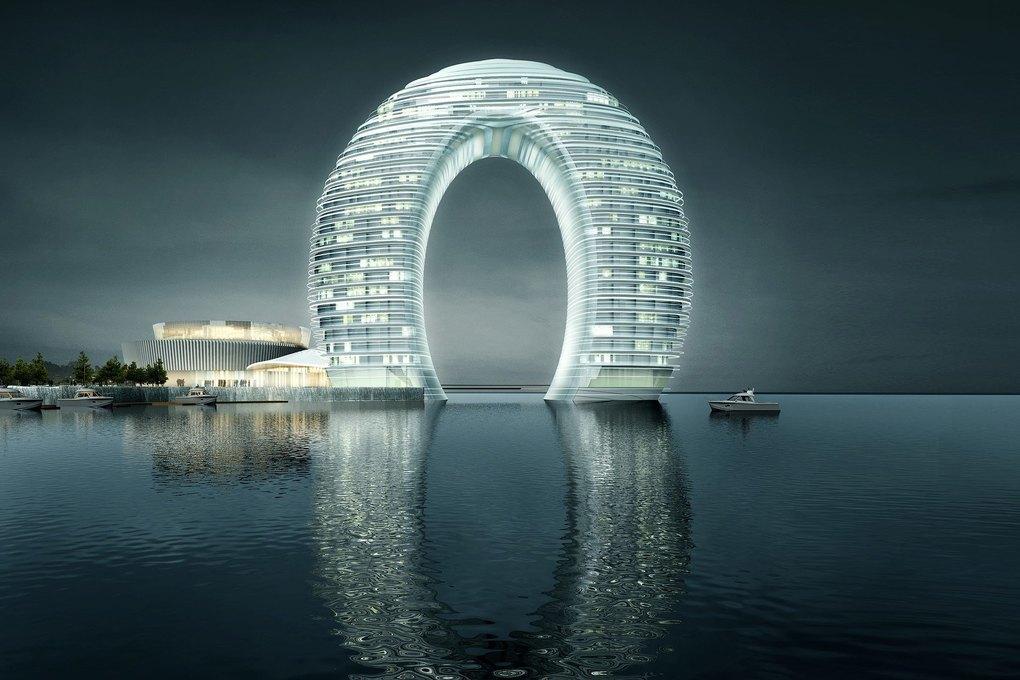Hopes Tech: 15 самых эффектных небоскрёбов мира. Изображение № 48.
