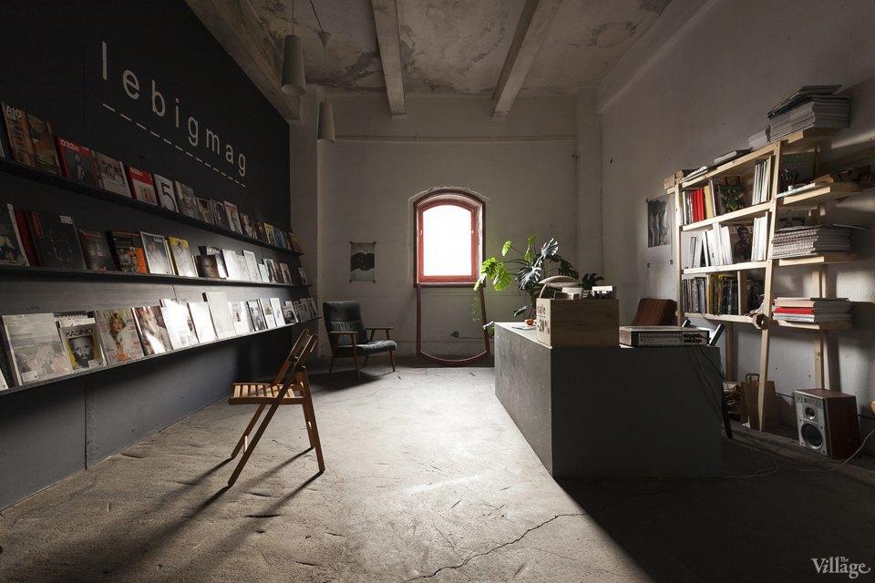 Интерьер недели (Петербург): Читальный зал Lebigmag. Изображение № 2.