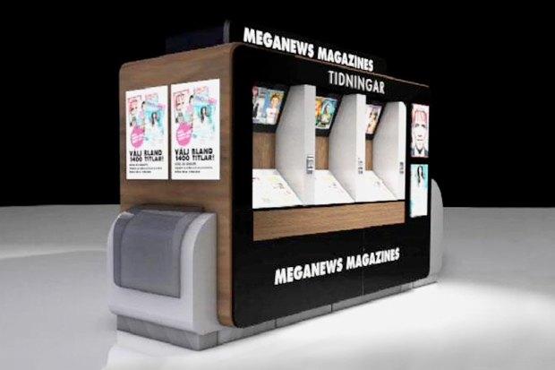 Идеи для города: Цифровой журнальный киоск в Швеции. Изображение № 2.