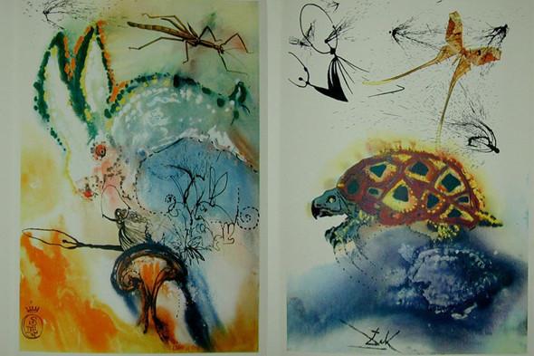 Иллюстрации Пикассо, Дали и Миро в Пушкинском музее. Изображение № 3.