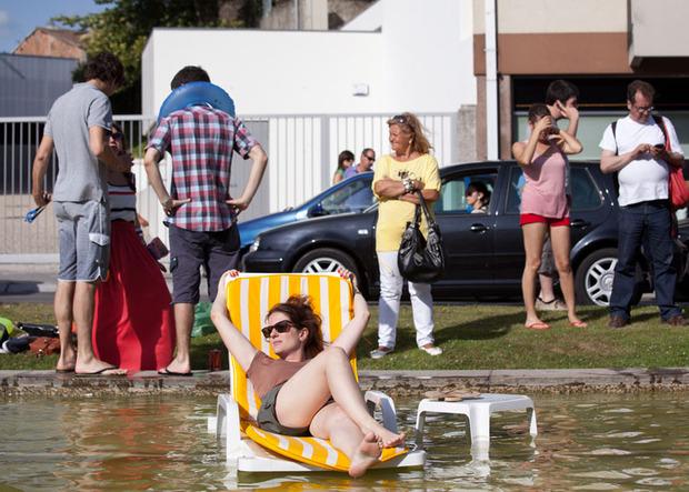 Идеи для города: Общественные бассейны в фонтанах. Изображение № 13.
