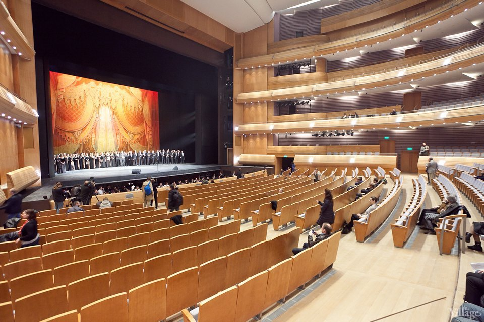 Фоторепортаж: Вторая сцена Мариинского театра изнутри. Изображение № 19.