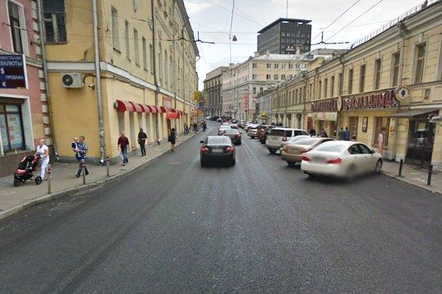 На Покровке и Маросейке расширят тротуары. Изображение № 1.