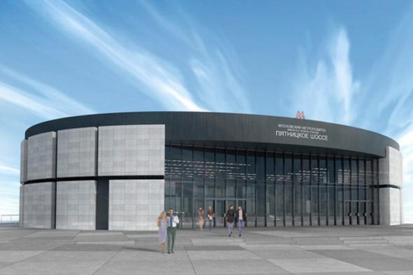 Метрополитен показал дизайн трех новых станций. Изображение № 11.