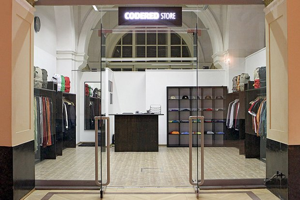 Российская марка Code Red открыла собственный магазин. Изображение № 1.