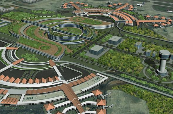 Проект аэротрополиса Sukarno Hatta, Япония. Изображение № 8.