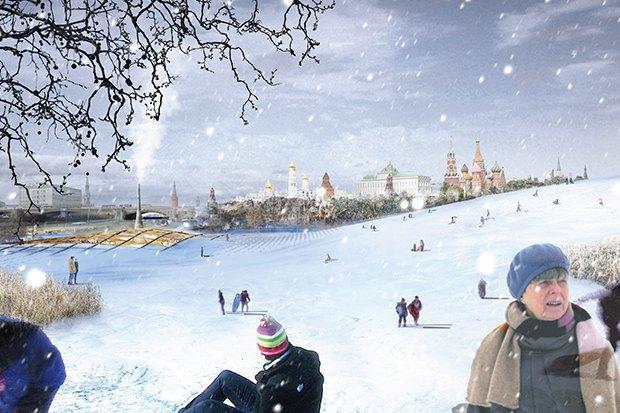 На территории будущего парка «Зарядье» появится интерактивный павильон. Изображение № 7.