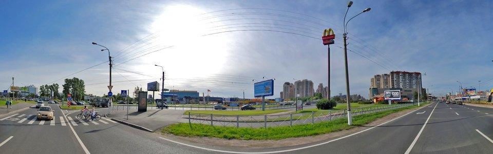 Возведение Приморского путепровода — въезда в город с Приморского шоссе  2009 год. Изображение № 17.