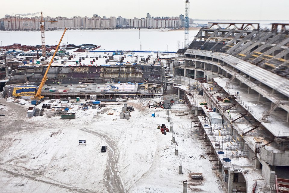 Фоторепортаж: Стадион «Зенит-Арена» изнутри. Изображение № 7.
